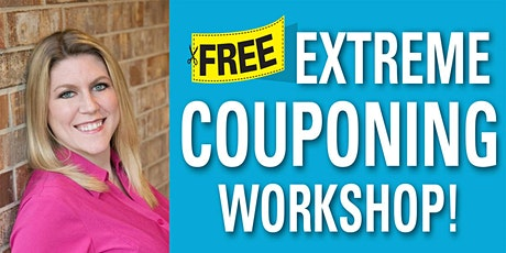 FREE Virtual Coupon Class on Saturday, July 31, 2021 at 10:00am!! tickets