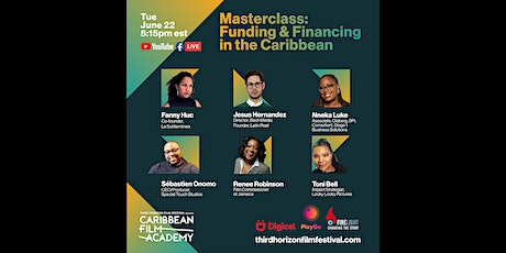 Masterclass:  Funding and financing in the Caribbean tickets