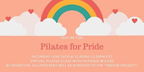 Pilates for Pride billets