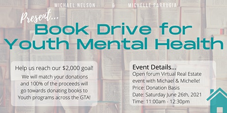 Book Drive For Mental Health tickets