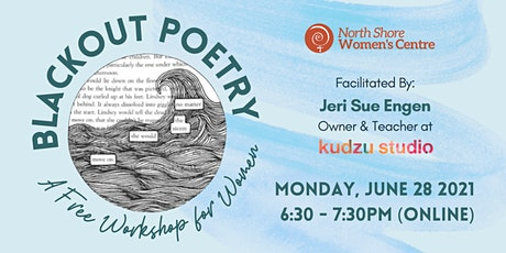 Blackout Poetry: A Free Workshop for Women tickets