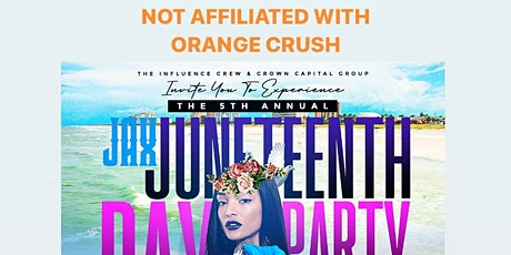 JAX JUNETEENTH  Day Party at Seachasers! tickets
