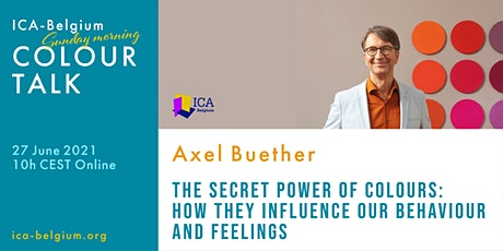 Sunday Morning Colour Talk with Axel Buether tickets