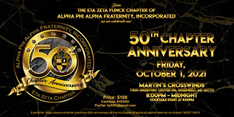 The 50th Anniversary of the HZ Chapter of Alpha Phi Alpha Fraternity Inc. tickets