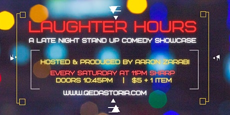 Laughter Hours - Late Night Stand Up Comedy Showcase tickets