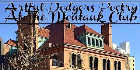 Artful Dodgers Poetry Open Mic billets
