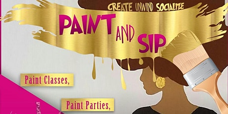 Paint and Sip Unlimited  Drinks tickets