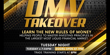 DMV TAKEOVER‼️ LEARN HOW TO GET ON THE RIGHT SIDE OF MONEY tickets