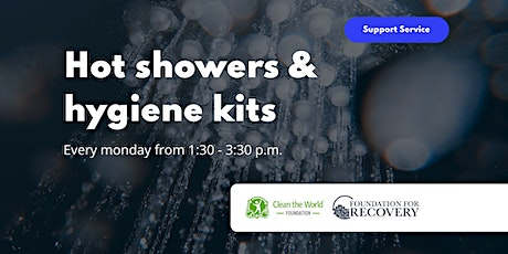 Hot Showers and Hygiene Kits tickets