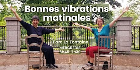 Bonnes vibrations matinales au Parc La Fontaine - Montréal billets