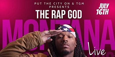 Rap God Montana Of 300 Live in Denver