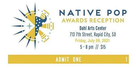 Native POP 2021 Awards Reception tickets