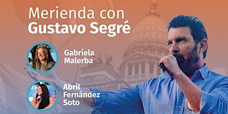 Merienda con Gustavo Segré. Comuna 12 y 13 entradas