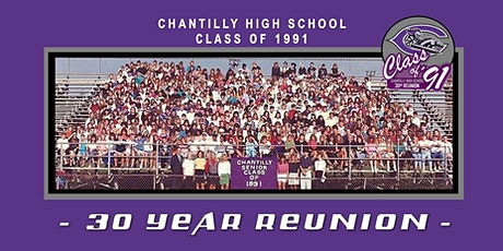 Chantilly High School, Class of 1991 - 30 Year Reunion tickets