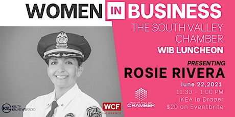 Women in Business Luncheon with Sheriff Rosie Rivera tickets