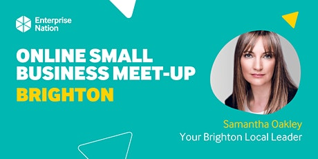 Online small business meet-up: Brighton tickets
