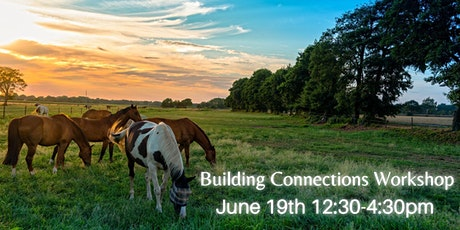 Building connections:a half day empowering event with art and horses. tickets