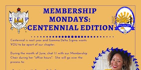 Membership Mondays tickets