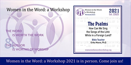 WOMEN IN THE WORD: A WORKSHOP 2021 tickets