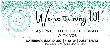 The Living Well Studio 10 Year Anniversary Party tickets