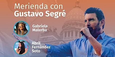 Merienda con Gustavo Segré. Comuna 8 y 10 entradas