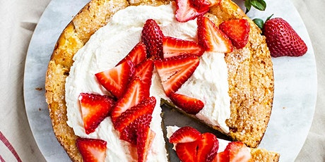 Strawberry Olive Oil Cake tickets