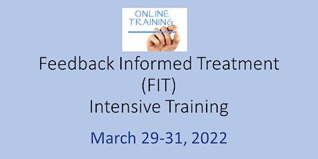 Feedback Informed Treatment (FIT) Intensive ONLINE tickets