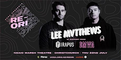 UCSA RE-ORI 2021 | Lee Mvtthews w/ Pirapus & EMWA (R18) tickets