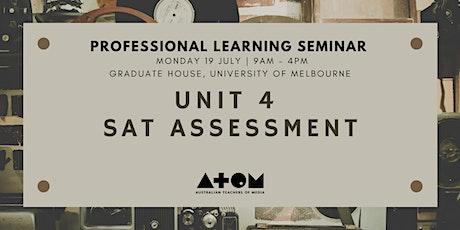 ATOM PL Seminar: Unit 4 SAT Assessment tickets