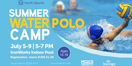 Youth Sports Summer Water Polo Camp tickets