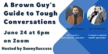 Brown Guy's Guide to Tough Conversations tickets