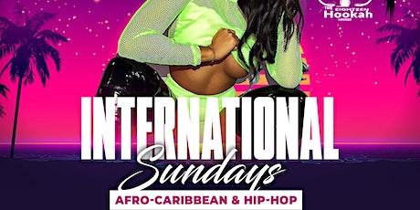 International Sundays @ The Eighteen Hookah Lounge tickets