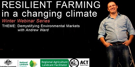 Resilient Farming in a changing climate- Demystifying Environmental Markets tickets