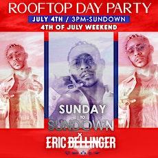 SunDay to SunDown w/ Eric Bellinger tickets