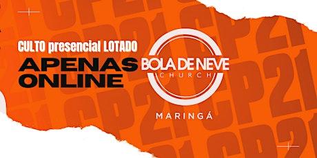 CULTO DOMINGO (20/06) 16H00 ingressos