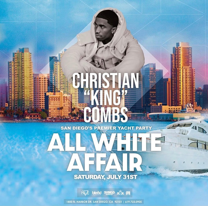 San Diego's Premier Yacht Party: An All White Affair image