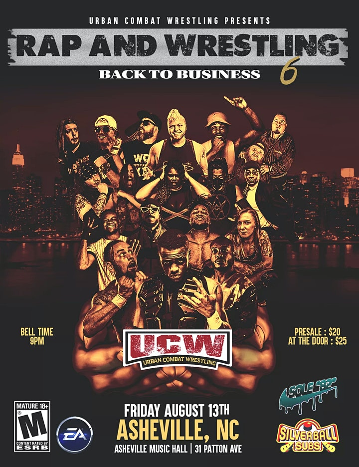 UCW Rap And Wrestling 6: Back to Business image
