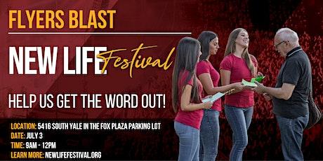 Flyers Blast | New Life Festival | Tulsa tickets