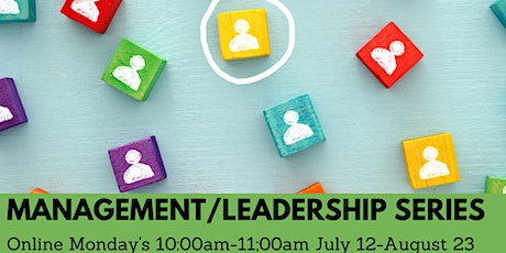 Management/Leadership Series : 7 Sessions tickets
