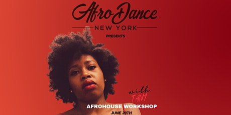 Online & In-person AfroHouse Dance  Workshop with Tany tickets