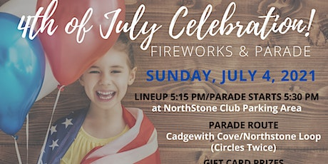 4th of July Celebration! Fireworks & Parade tickets