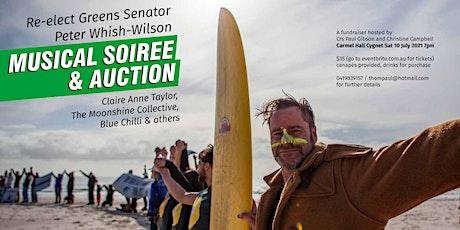 Re-elect Greens Senator Peter Whish-Wilson tickets