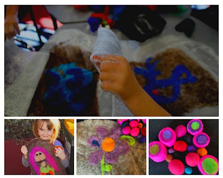 School Holidays fun: Felt making workshop at The Hub Hornby image