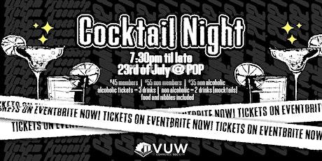 Cocktail Night | VicCom tickets