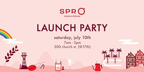 SPRO Coffee Lab: Cafe Launch Party tickets