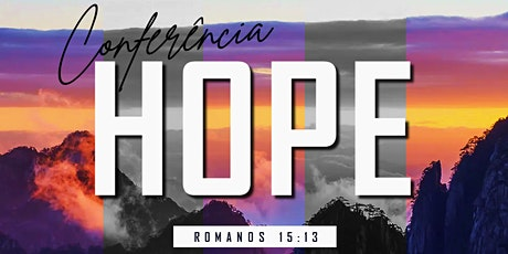 Conferência HOPE 2021 ingressos