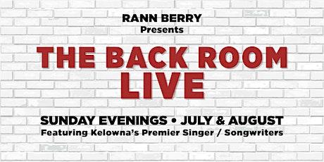 RANN BERRY and THE RANDOM ACT tickets