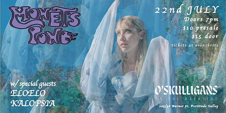 Monet's Pond 'Floating In Air' single launch tickets