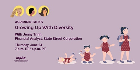 ASPIRING TALKS: Growing Up With Diversity with Jenny Trinh tickets