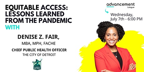 Equitable Access: Lessons Learned from the Pandemic (Proceeds go to SDOH) tickets
